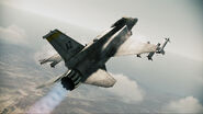 F-16F Assault Horizon Flyby