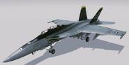 FA-18F -Jolly Rogers- Hangar