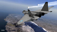 MiG-1.44 ACX Flyby 2