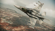 F-16F Assault Horizon Flyby 2