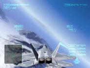 F-22 over Mount Shezna