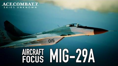 Ace Combat 7 Skies Unknown - PS4 XB1 PC - MiG-29A Aircraft Focus