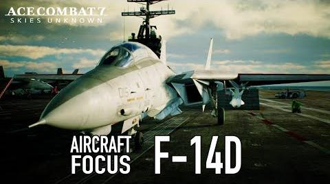 Ace Combat 7 Skies Unknown - PS4 XB1 PC - F-14D Aircraft Focus