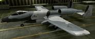 A-10A Knight color hangar