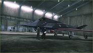 F-117A Stars and Stripes Hangar
