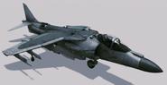 AV-8B Harrier II plus Hangar