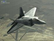 F-22A Desert Flyby 1024x768