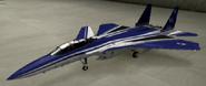 F-15SMTD Special color hangar