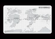 AC7 WonderGOO Strangereal Map Desk Mat