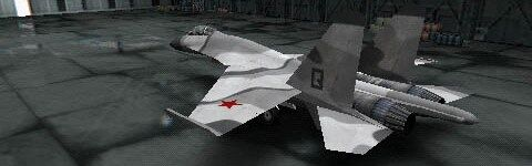Su-27 from Ace Combat X2: Joint Assault