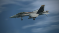 Super Hornet Carrier Approach