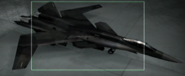 X-02 Razgriz color Hangar