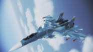 Su-33 Flanker-D Flyby 1 by RythusOmega