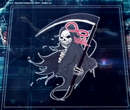 Reaper Emblem With Ribbon