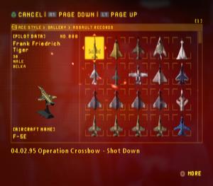 Ace Combat Zero Assault Records.png