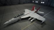 FA18F AC7 RedDevils Hangar