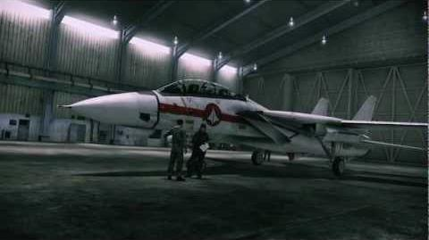 ACE COMBAT ASSAULT HORIZON F-14D MACROSS VF-1J