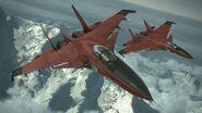 Su-33 -CRIMSON WING- Flyby 3