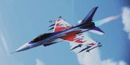 """F-16C """"AC"""" Skin -01 Flyby"""