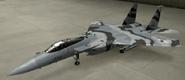 F-15C Special color hangar