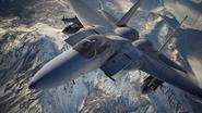 AC7 F-15C Loading Screen Flyby