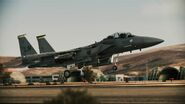 F-15E Strike Eagle AH Takeoff