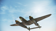 P-38L Event Skin flyby 3