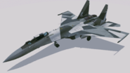 Su-35 Event Skin02 Hangar1