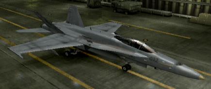 F A-18C Standard color hangar