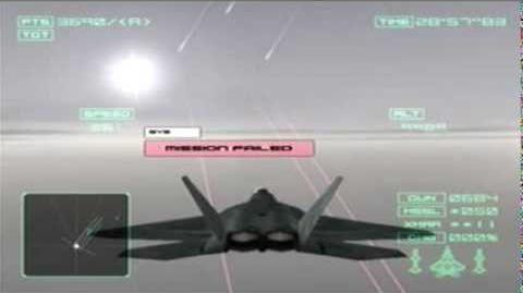 Ace Combat 04 Bad Ending