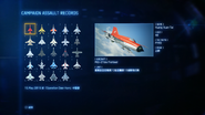 空戰奇兵7 未知天際 ASSAULT RECORDS畫面