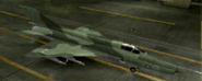 MiG-21bis Mercenary color hangar