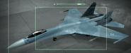 Su-27 Osea color Hangar