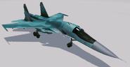 Su-34 Fullback Hangar