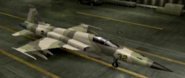 F-5E Mercenary color hangar
