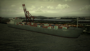 General Resource and Grunder Container Ship at Gracemeria