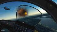 Gripen C ACX Cockpit