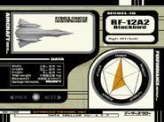 RF-12A2 Blackbird Selection Export