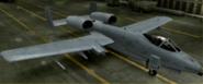 A-10A Mercenary color hangar