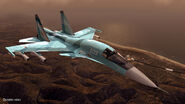 ACZ Su-32 Flyby