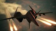 ADF-01 AC7 Firing Missiles