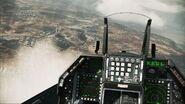 F-16C cockpit