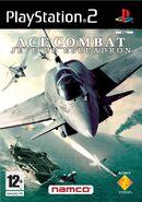 Ace Combat 5 Box Art Spain