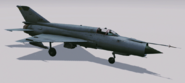MiG-21bis Hangar