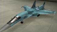 Su-34 Standard color hangar