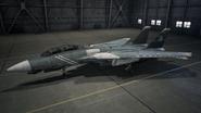 F14D AC7 Schnee Hangar