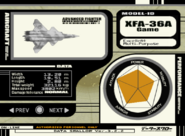 XFA-36A Export Selection