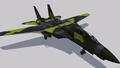 F-14A Normal Skin 01 (YE) Hangar
