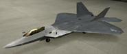 F-22A Special color hangar