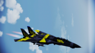 F-14A Normal Skin 01 Yellow Flyby